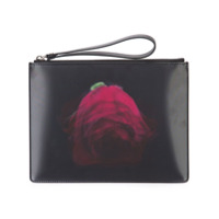 Christopher Kane Clutch Com Estampa - Preto