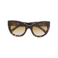 Bulgari Óculos De Sol Serpenti Com Aplicações - Marrom