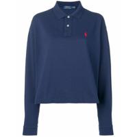 Polo Ralph Lauren Camisa Polo Mangas Longas - Azul