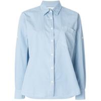 Margaret Howell Camisa Mangas Longas - Azul