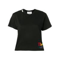 Forte Dei Marmi Couture Camiseta Com Logo Bordado - Preto