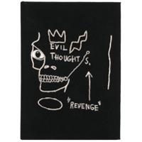 Olympia Le-Tan Clutch 'basquiat Revenge' - Preto
