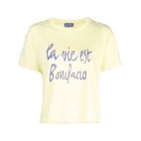 Lhd Camiseta Bonifacio Com Estampa - Amarelo