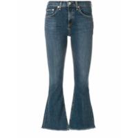 Rag & Bone /jean Calça Jeans Flare - Azul