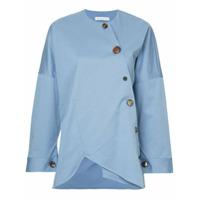 Rejina Pyo Blusa Assimétrica - Azul