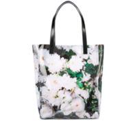 Kara Bolsa Tote Floral - Branco