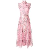 Olivia Rubin Vestido Com Estampa Floral - Rosa
