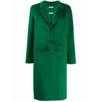 P.a.r.o.s.h. Casaco Slim Com Abotoamento Simples - Verde