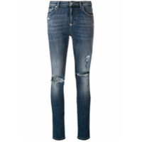 Philipp Plein Calça Jeans Skinny - Azul