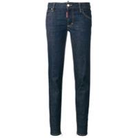 Dsquared2 Calça Jeans Cintura Média 'twiggy' - Azul