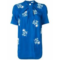 Erdem Floral-Embroidered Top - Azul