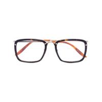 Gucci Eyewear Armação De Óculos Havana - Marrom