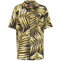 Double Rainbouu Camisa Hawaiian De Algodão - Preto