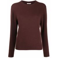 12 Storeez Suéter Superior De Cashmere - Marrom
