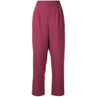 Ballsey Cropped Trousers - Roxo