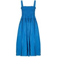 Molly Goddard Vestido Midi Kayla - Azul