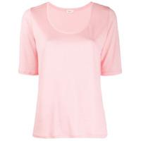 Filippa-K Camiseta Decote Em U - Rosa