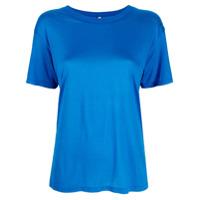 Baserange Camiseta Decote Careca De Bambu - Azul