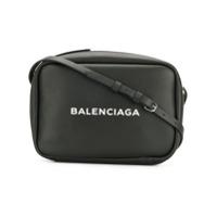 Balenciaga Bolsa Transversal De Couro 'everyday' - Preto