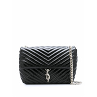 Rebecca Minkoff Edie Flap Shoulder Bag - Preto