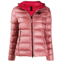 Blauer Hooded Down Jacket - Rosa