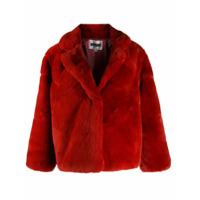 Apparis Textured Short Jacket - Laranja