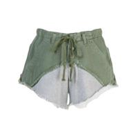 Greg Lauren Bermuda Bicolor - Verde