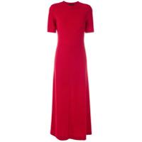 Osklen Vestido Longo Reto - Vermelho