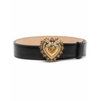 Dolce & Gabbana Cinto Devotion - Preto