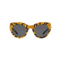 Versace Eyewear Óculos De Sol Gatinho - 528387Amarela