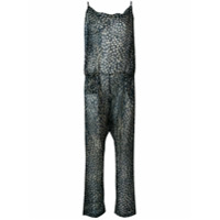 Humanoid Sonne Printed Jumpsuit - Azul