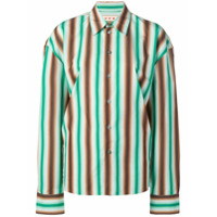 Marni Camisa Listrada - Green