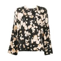 Boutique Moschino Suéter Mangas Longas Com Estampa Floral - Preto