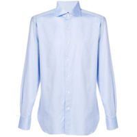Ermenegildo Zegna Camisa Slim - Azul