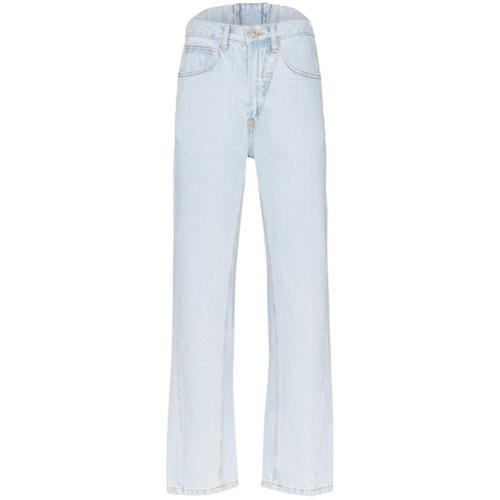 pushBUTTON Calça jeans reta - Azul