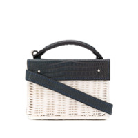 Wicker Wings Bolsa Tiracolo Kuai Mini - Azul