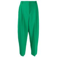 Stella Mccartney Calça De Alfaiataria Cenoura - Verde