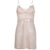 Wacoal Chemise Perfection Com Renda - Rosa