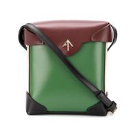 Manu Atelier Mini Pristine Crossbody Bag - Verde