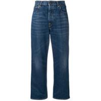 Golden Goose Calça Jeans Kim Pantalona - Azul