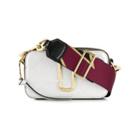 Marc Jacobs Snapshot Crossbody Bag - Prateado