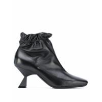 Givenchy Ankle Boot Com Bico Quadrado E Salto 75Mm - Preto