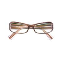 Alain Mikli Armação De Óculos Quadrada - Marrom