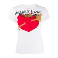 Helmut Lang Printed T-Shirt - Branco