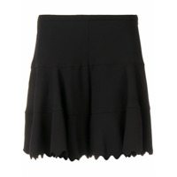Chloé Scalloped Shorts - Preto