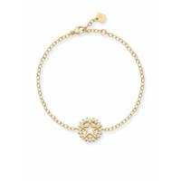 Nouvel Heritage Pulseira Mystic Star De Ouro 18K Com Diamante - Dourado