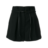 3.1 Phillip Lim Shorts Com Pregas - Preto