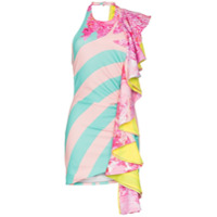 Halpern Vestido Estampado - Multicoloured