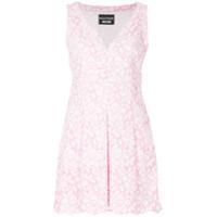 Boutique Moschino Vestido Bordado - Rosa