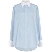 Matthew Adams Dolan Camisa Assimétrica - Azul